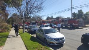 Vanowen fire trucks