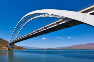 Roosevelt Lake Bridge Arizona