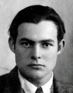 Ernest Hemingway - Passport - Public Domain