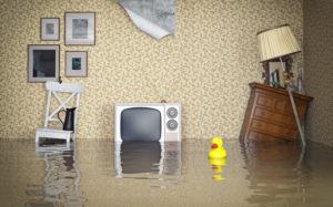 Flooded interior