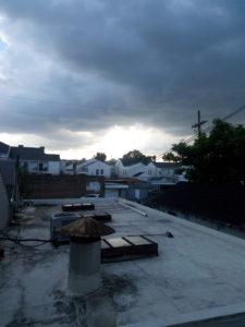 storm over louisiana
