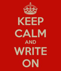 keep-calm-write-on