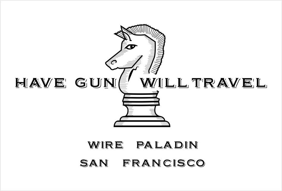 Funky Have Gun Will Travel Business Card Collection - Business Card ...